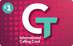 Paper CT International Calling Card Scratch Card Printing