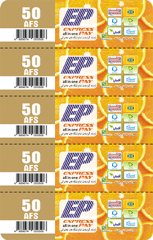 5 in 1 Multi-Pin EP Scratch Card Printing