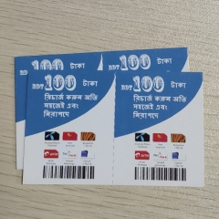5 in 1 Multi-Pin Skytel Scratch Card Printing